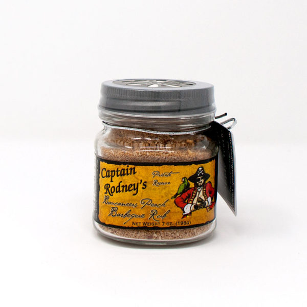 Captain Rodney's Boucaneers Peach Barbeque Rub - The Happy Olive