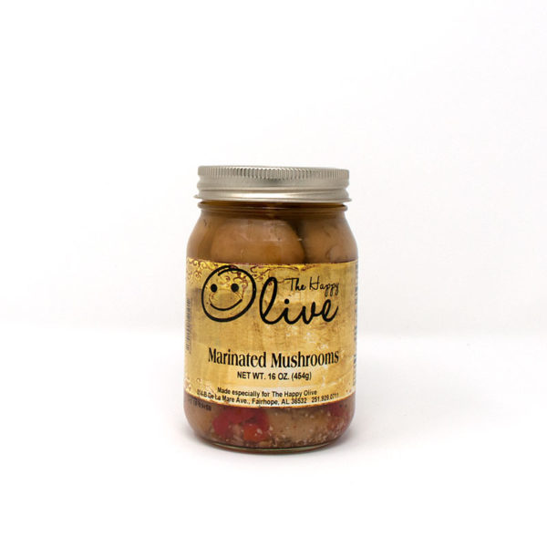 Marinated Mushrooms - The Happy Olive