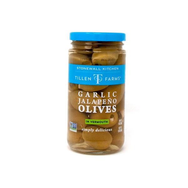 Garlic Jalapeño Olives - Stonewall Kitchen - The Happy Olive