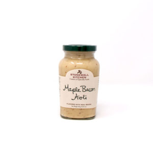 Maple Bacon Aioli - The Happy Olive